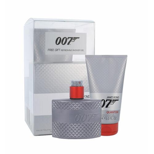 James Bond 007 Quantum EDT EDT 50 ml + sprchový gel 150 ml pro muže