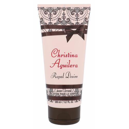 Christina Aguilera Royal Desire tělové mléko 200 ml pro ženy
