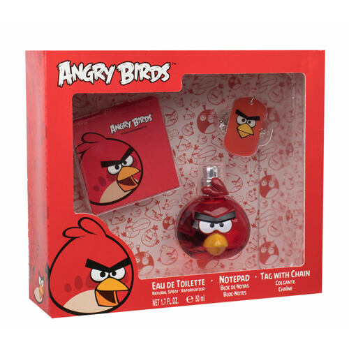 Angry Birds Angry Birds Red Bird EDT EDT 50 ml + poznámkový blok + přívěšek na krk Unisex