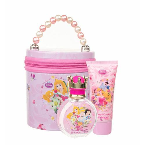 Disney Princess Princess EDT EDT 50ml + tělové mléko 60 ml + plechová krabička Unisex