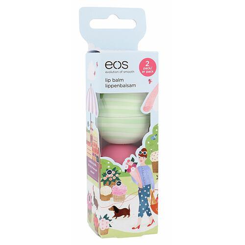 EOS Lip Balm balzám na rty balzám na rty 7 g Strawberry Sorbet + balzám na rty 7 g Cucumber Melon pro ženy