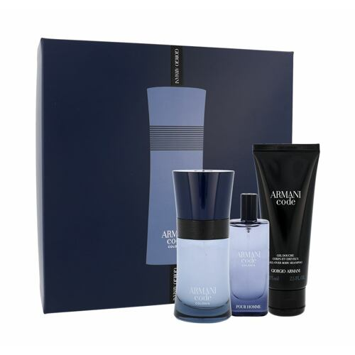 Giorgio Armani Armani Code Colonia EDT EDT 50 ml + EDT 15 ml + sprchový gel 75 ml pro muže