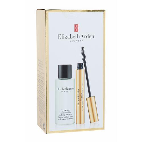 Elizabeth Arden Ceramide řasenka řasenka 7 ml + odličovací přípravek All Gone Makeup Remover 50 ml pro ženy