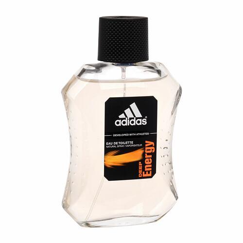 Adidas Deep Energy EDT 100 ml Poškozená krabička pro muže