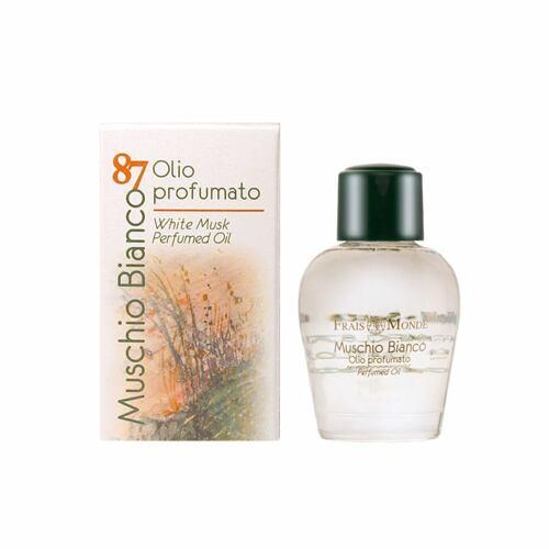 Frais Monde White Musk parfémovaný olej 12 ml pro ženy