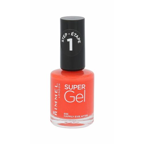 Rimmel London Super Gel STEP1 lak na nehty 12 ml pro ženy
