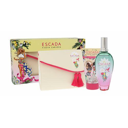 ESCADA Fiesta Carioca EDT EDT 100 ml + tělové mléko 150 ml + kosmetická taška pro ženy