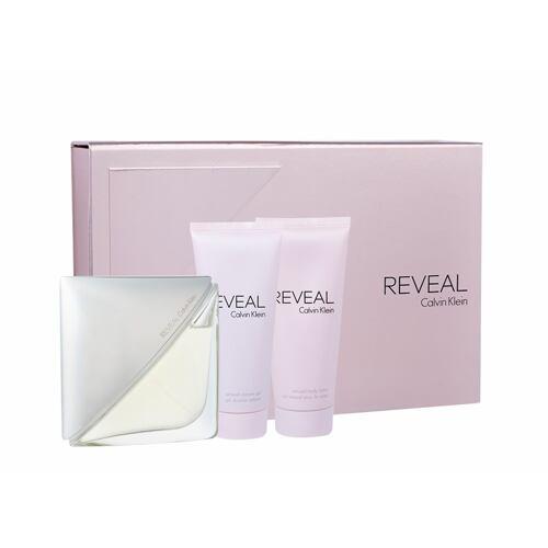 Calvin Klein Reveal EDP EDP 100 ml + sprchový gel 100 ml + tělové mléko 100 ml pro ženy