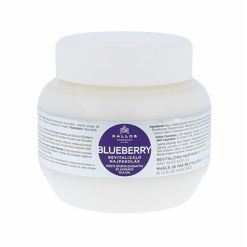 Kallos Cosmetics Blueberry maska na vlasy 275 ml pro ženy