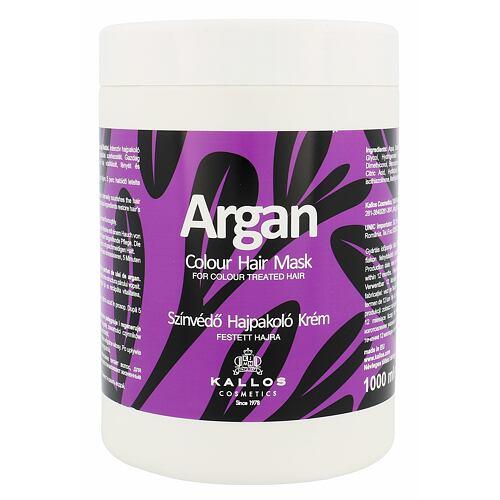 Kallos Cosmetics Argan maska na vlasy 1000 ml pro ženy