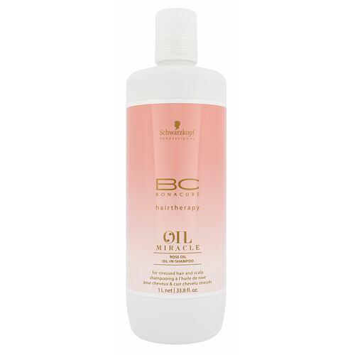 Schwarzkopf BC Bonacure Oil Miracle Rose Oil šampon 1000 ml pro ženy