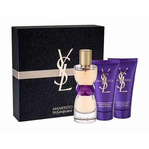 Yves Saint Laurent Manifesto EDP EDP 50 ml + sprchový gel 50 ml + tělové mléko 50 ml pro ženy