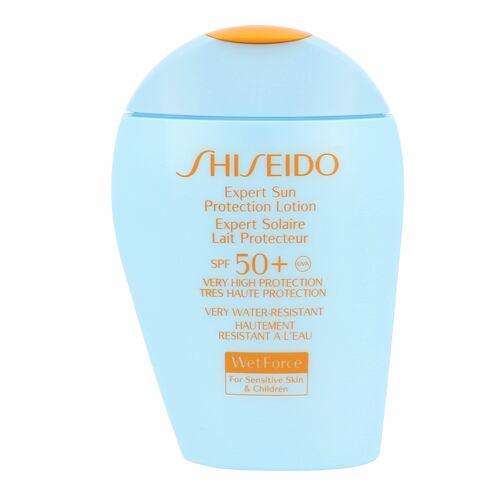 Shiseido Expert Sun Aging Protection Lotion Plus opalovací přípravek na tělo 100 ml Tester pro ženy