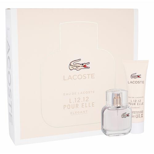 Lacoste Eau De Lacoste L.12.12 Pour Elle Elegant EDT EDT 30 ml + sprchový gel 50 ml pro ženy