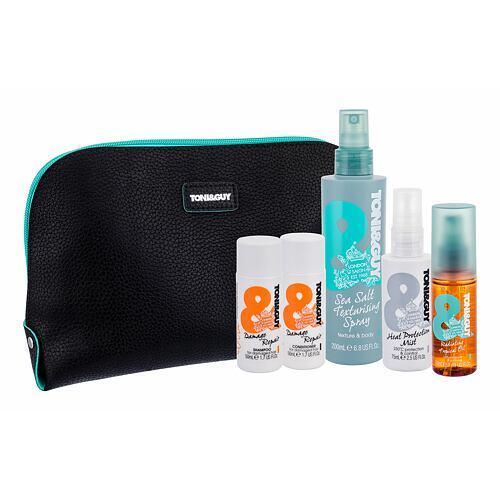 TONI&GUY Casual Sea Salt Texturising Spray pro definici a tvar vlasů dárková kazeta pro ženy