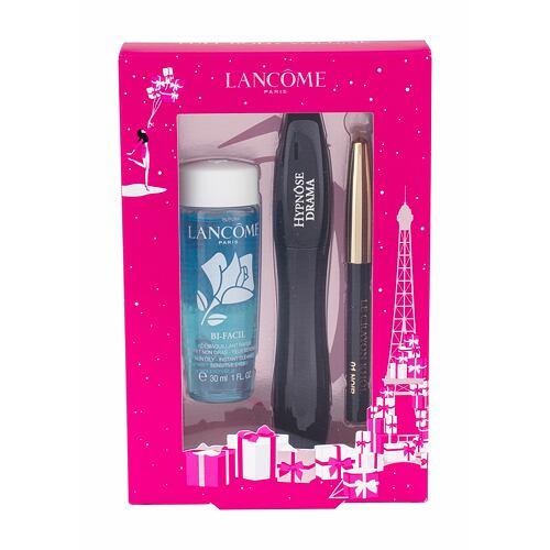 Lancome Hypnose Drama řasenka řasenka 6,5 ml + tužka na oči Le Crayon Khol 0,7 g 01 Noir + odličovací přípravek na oči Bi-Facil 30 ml pro ženy