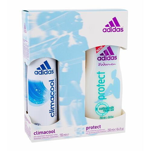 Adidas Climacool antiperspirant Antiperspirant 150ml + 250ml sprchový gel Protect pro ženy