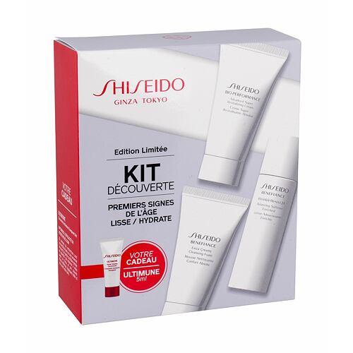 Shiseido Benefiance Extra Creamy Cleansing Foam čisticí pěna dárková kazeta pro ženy