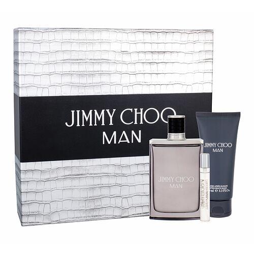 Jimmy Choo Jimmy Choo Man EDT EDT 100 ml + EDT 7,5 ml + balzám po holení 100 ml pro muže