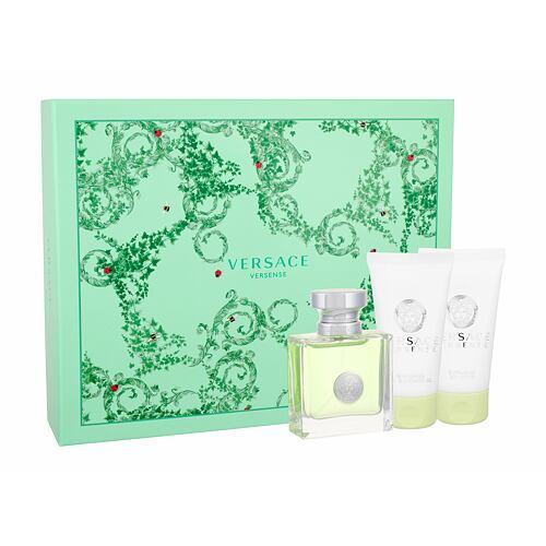 Versace Versense EDT EDT 50 ml + tělové mléko 50 ml + sprchový gel 50 ml pro ženy