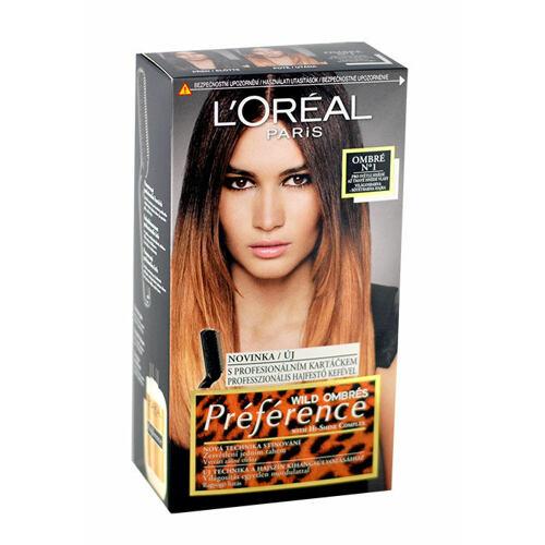 L´Oréal Paris Préférence Wild Ombres barva na vlasy 1 ks pro ženy