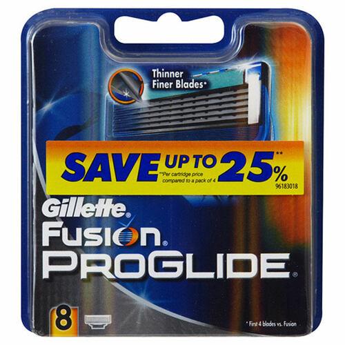 Gillette Fusion Proglide náhradní břit 8 ks pro muže