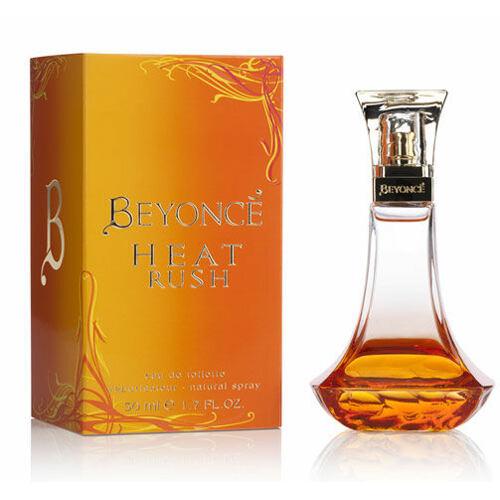 Beyonce Heat Rush EDT 50 ml Poškozená krabička pro ženy