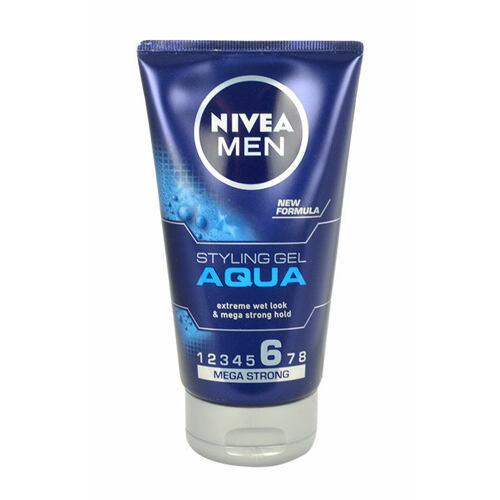 Nivea Men Aqua gel na vlasy 150 ml pro muže
