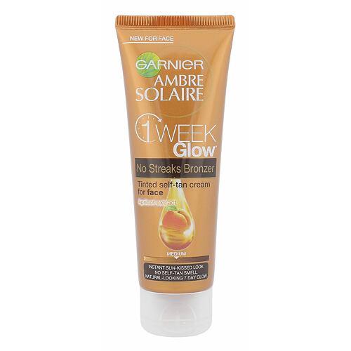 Garnier Ambre Solaire One Week Glow Self-Tan samoopalovací přípravek 50 ml pro ženy