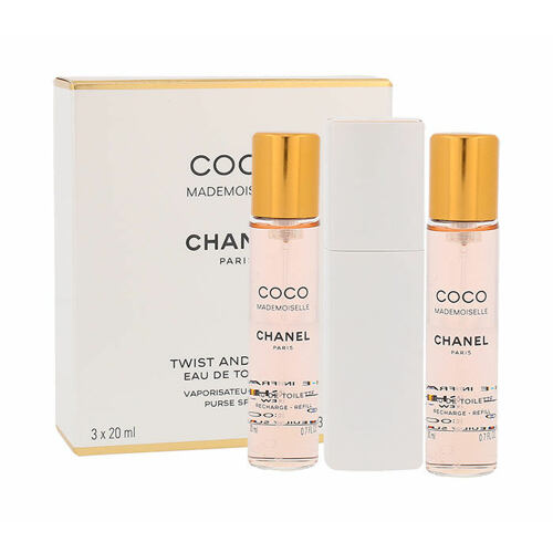 Chanel Coco Mademoiselle EDT 20 ml Twist and Spray pro ženy