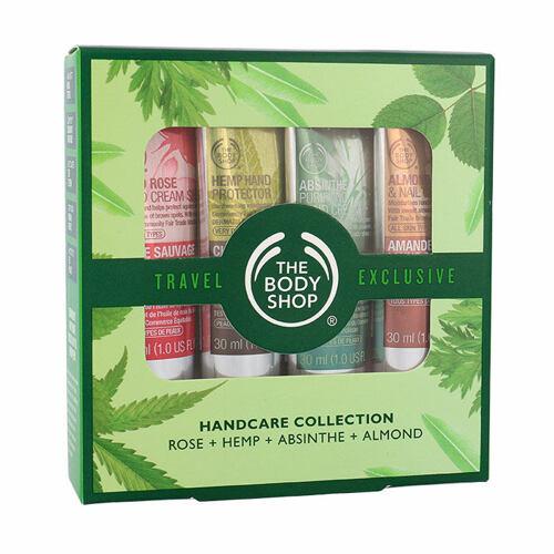 The Body Shop Wild Rose SPF15 krém na ruce dárková kazeta pro ženy
