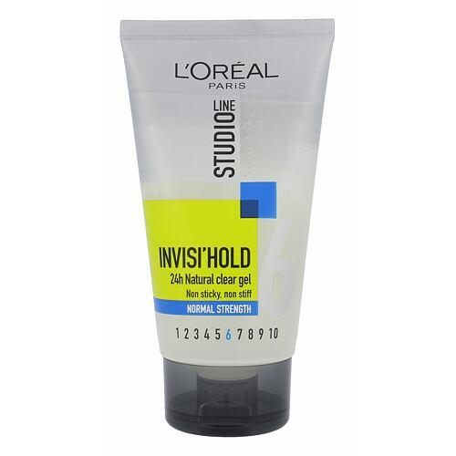 L´Oréal Paris Studio Line Invisi´ Hold gel na vlasy 150 ml pro ženy