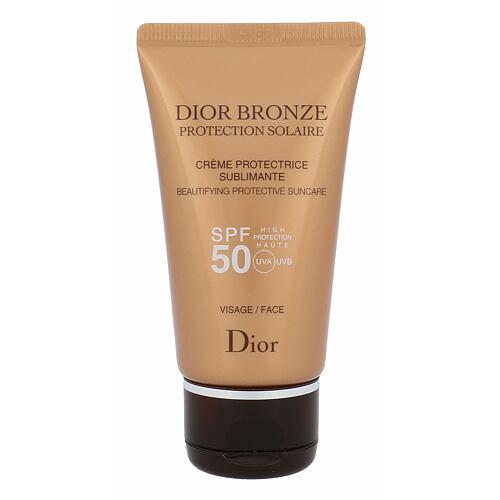 Christian Dior Bronze Beautifying opalovací přípravek na obličej 50 ml Tester pro ženy