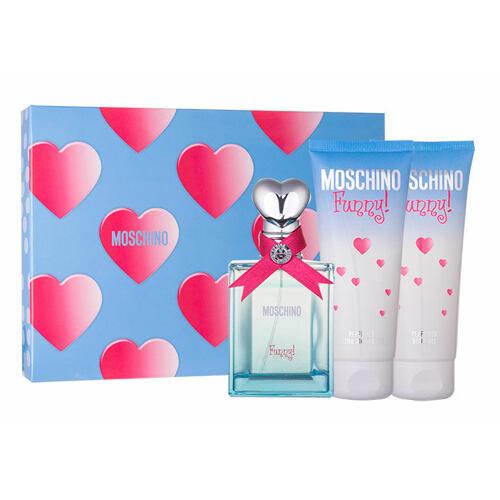 Moschino Funny! EDT EDT 50 ml + tělový gel 100 ml + sprchový gel 100 ml pro ženy