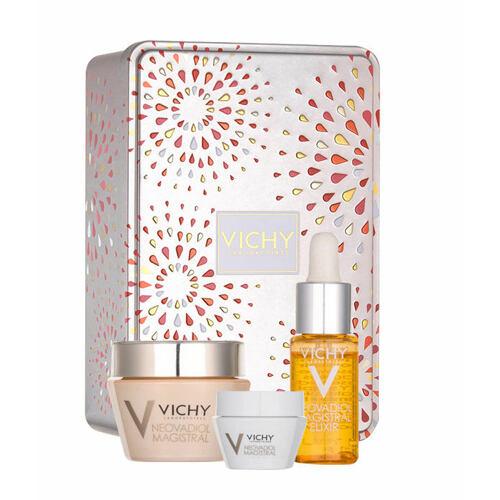 Vichy Neovadiol Magistral denní pleťový krém denní pleťový balzám 50 ml + denní pleťový balzám 15 ml + pleťové sérum 7 ml pro ženy
