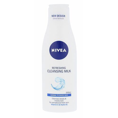 Nivea Refreshing čisticí mléko 200 ml pro ženy