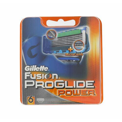 Gillette Fusion Proglide Power náhradní břit 6 ks pro muže