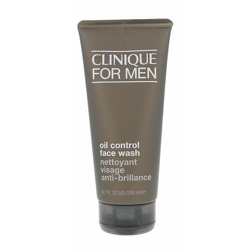 Clinique For Men Oil Control Face Wash čisticí gel 200 ml pro muže