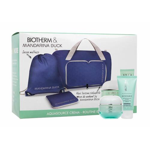 Biotherm Aquasource Gel Cream denní pleťový krém dárková kazeta pro ženy