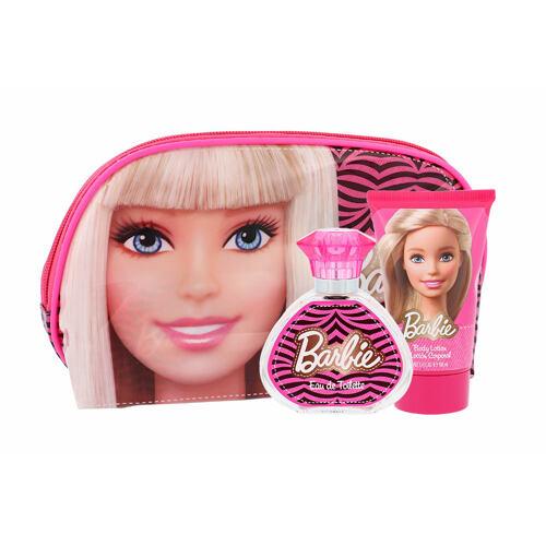 Barbie Barbie EDT EDT 50 ml + tělové mléko 100 ml + kosmetická taška Unisex