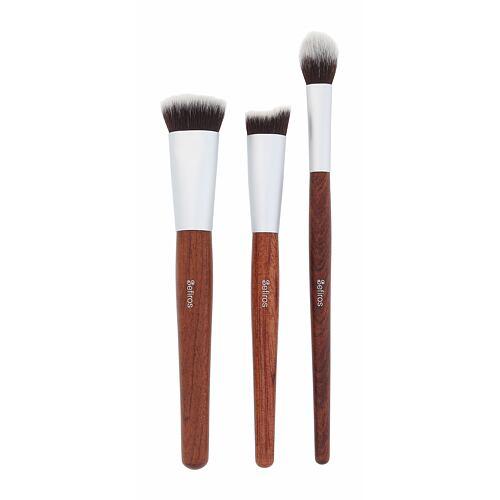 Sefiros Brushes Red Wood Contouring Brush štětec kosmetický štětec 3 ks pro ženy