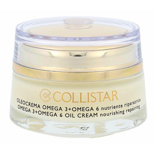 Collistar Pure Actives Omega 3 + Omega 6 Oil Cream denní pleťový krém 50 ml pro ženy