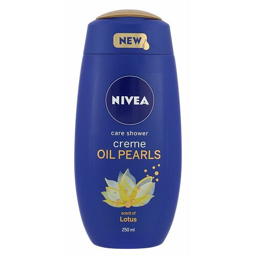 Nivea Creme Oil Pearls Lotus sprchový gel 250 ml pro ženy