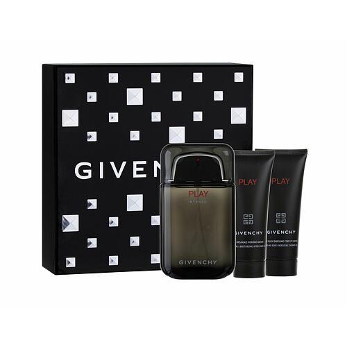 Givenchy Play Intense EDT EDT 100 ml + balzám po holení 75 ml + sprchový gel 75 ml pro muže