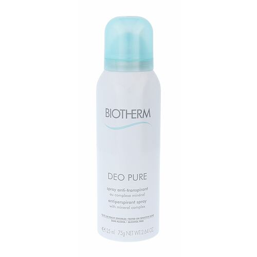 Biotherm Deo Pure antiperspirant 125 ml pro ženy