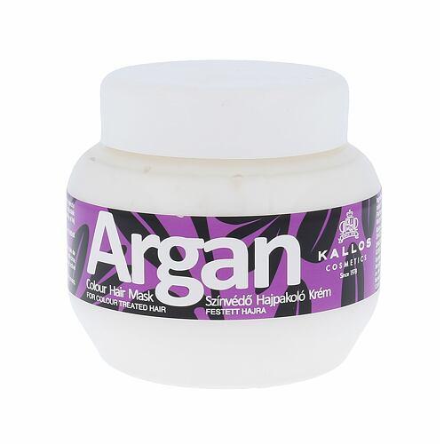 Kallos Cosmetics Argan maska na vlasy 275 ml pro ženy