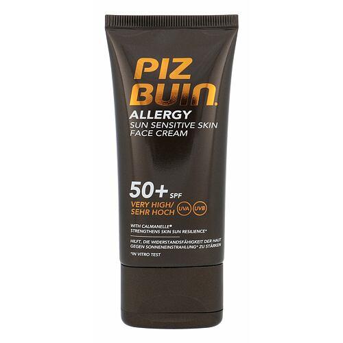 PIZ BUIN Allergy Sun Sensitive Skin Face Cream opalovací přípravek na obličej 50 ml pro ženy