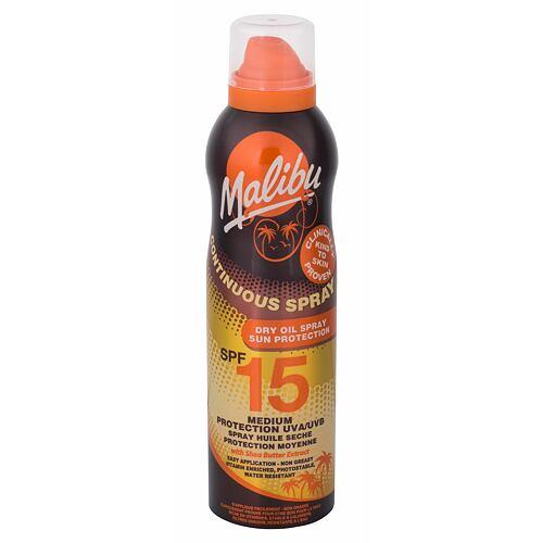 Malibu Continuous Spray Dry Oil opalovací přípravek na tělo 175 ml pro ženy