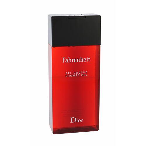 Christian Dior Fahrenheit sprchový gel 200 ml pro muže