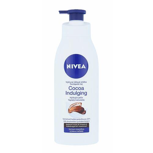 Nivea Cocoa Indulging tělové mléko 400 ml pro ženy